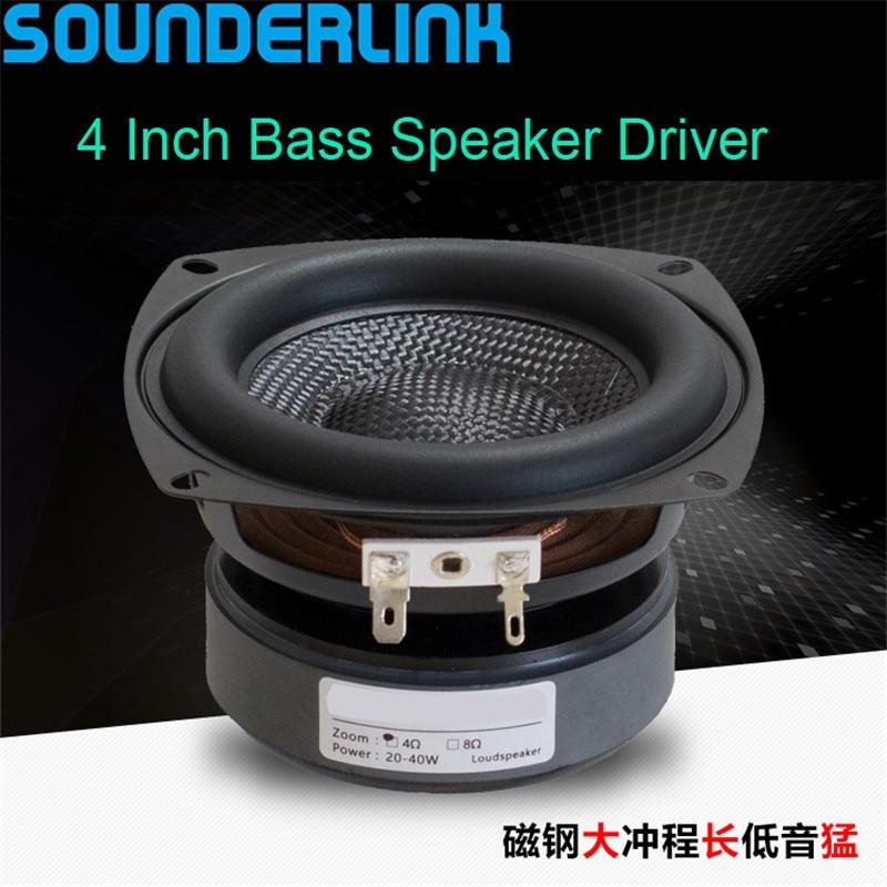1 PC Sounderlink 4'' 50W SUPER subwoofer woofer bass raw ...