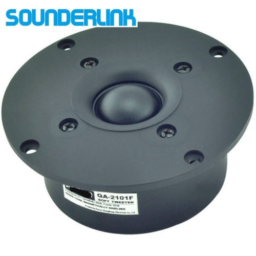 I Key Buy Sounderlink Audiolabs 2 Inch HiFi Silk Soft Dome Speakers Tweeter  Diaphragm Driver Unit 6 Ohm DIY 1PC