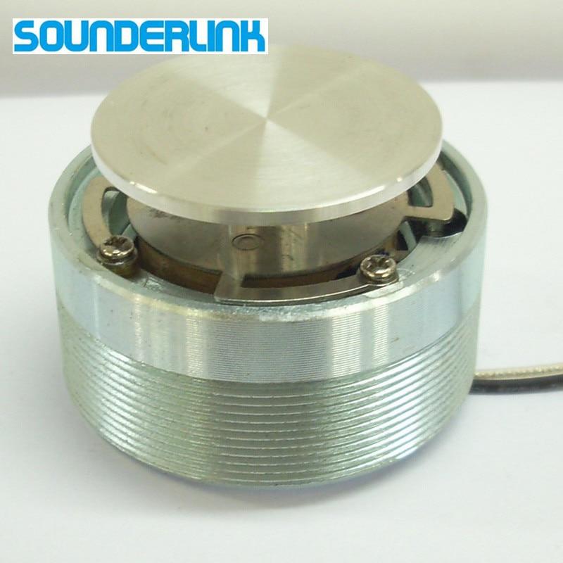 Sounderlink 1pc 2inch 50mm 25w High Power Resonance Vibration Speaker Full Range Drive Plane Shaker Loudspeaker Diy Speakers Portable Speakers